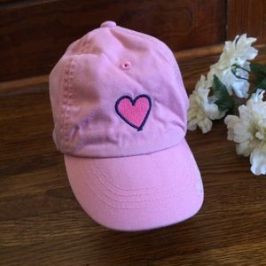 Life is Good Pink Heart 12-24 Month Old Baby Hat
